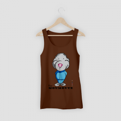 T-shirt taupe moumoute